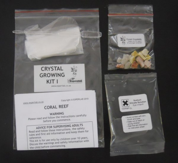 Crystal Growing Kit I Sp907 R2700 Experilab Online Store