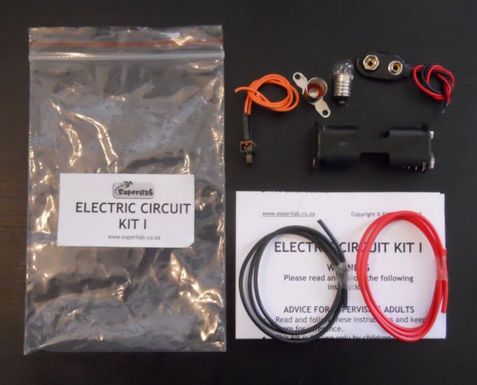 Electric Circuit Kit I [SP1206] - R36.00 : EXPERILAB, Online Store